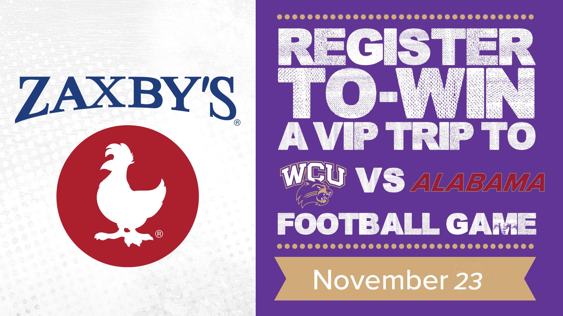 Zaxby's VIP Giveaway to WCU at Alabama Football Game ... on chuck e cheese map, longhorn steakhouse map, chic fil a map, bojangles map, petco map, motel 6 map, quiznos map, ihop map, cici's pizza map, little caesars map, panera bread map, kfc map, papa johns map, golden corral map, chipotle map,
